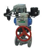 ZSHO-16/40型气动O型切断球阀